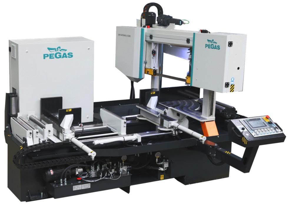 Ленточнопильный станок KATANA+X-CNC-LR